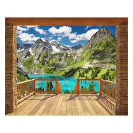 Walltastic Alpine Mountain XXL