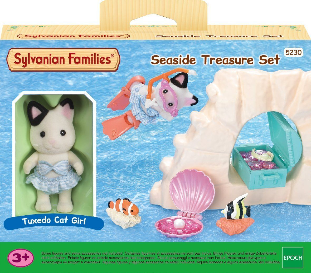 Amazon Sylvanian Families Seaside Treasure Set Toys