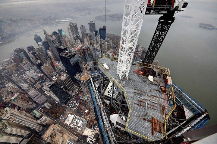 Tower Crane New York : View from crane on tower cranes heavy