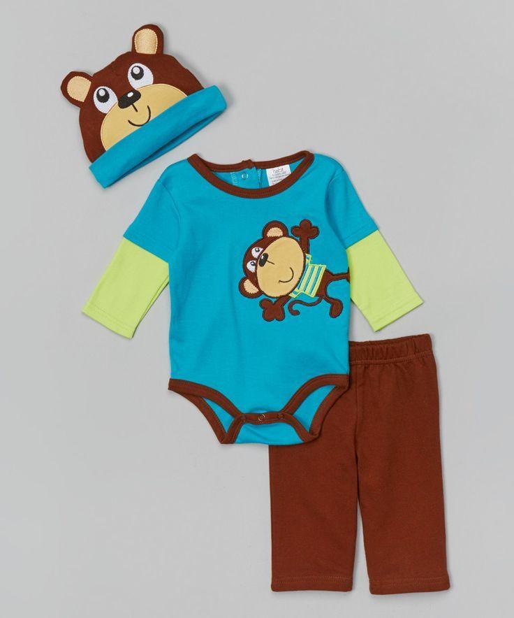 Monkey Depot - Clothing Set: Very Cool Peacoat High School