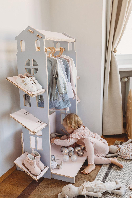 Mini Garderoba Dla Dzieci Mini House Home Toddler Bed