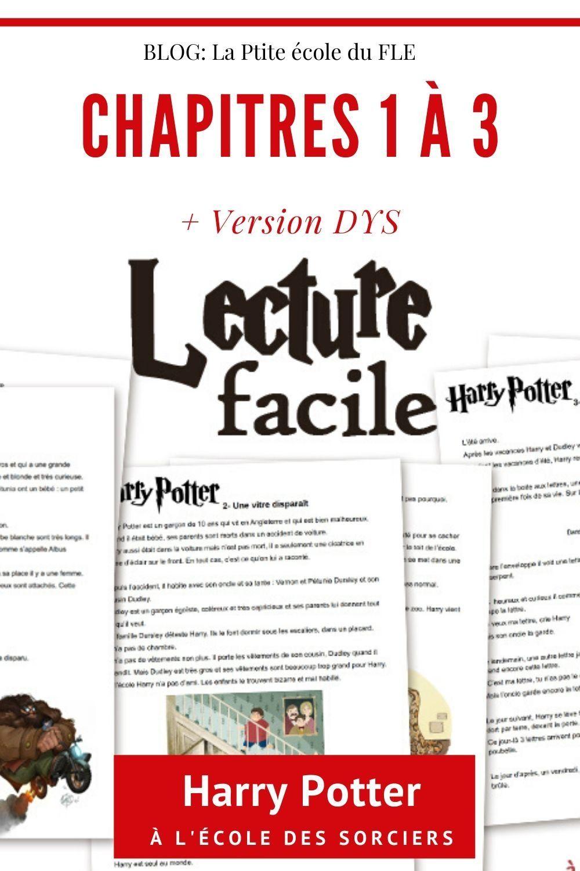 Harry Potter Lecture Facile Lecture Suivie Ce2 Lecture Comprehension Cm2 Lecture Ce2