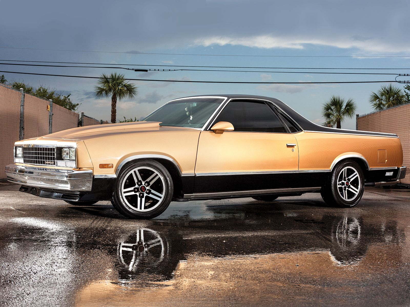 1986 Chevrolet El Camino Front Side View Jpg 1600 1200