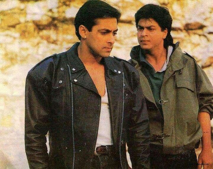 Shahrukh Khan And Salman Khan Karan Arjun 1995 When They Didn T