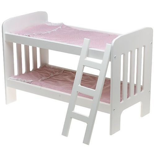 Best Wooden Doll Bunk Beds With Ladder For 20 Inch Dolls 400 x 300