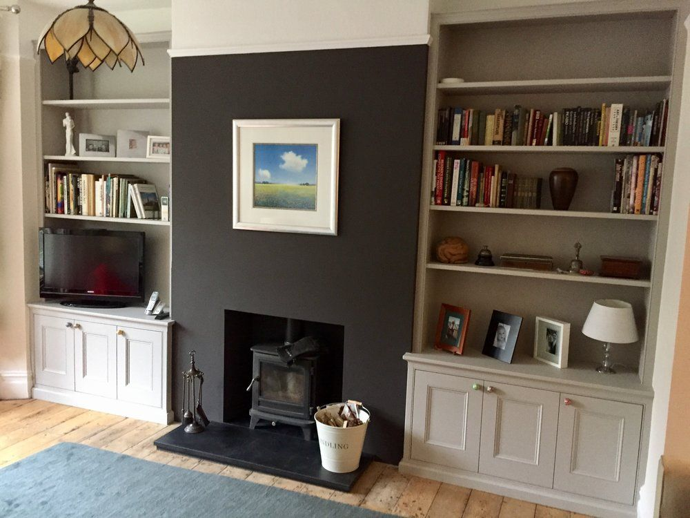 alcove ideas living room built bespoke wardrobes alcove units shelves and 17403