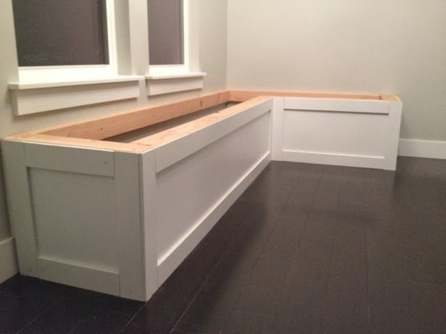 I Have To Start This Out By Just Saying How Amazing Micah Is Seriously He Built This Entire Kitchen Bench In Kitchen Nook Bench Kitchen Seating Kitchen Nook