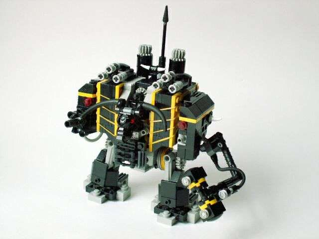 Spikey Bits: Lego Dreadnought of Chaos- Pic of the Day