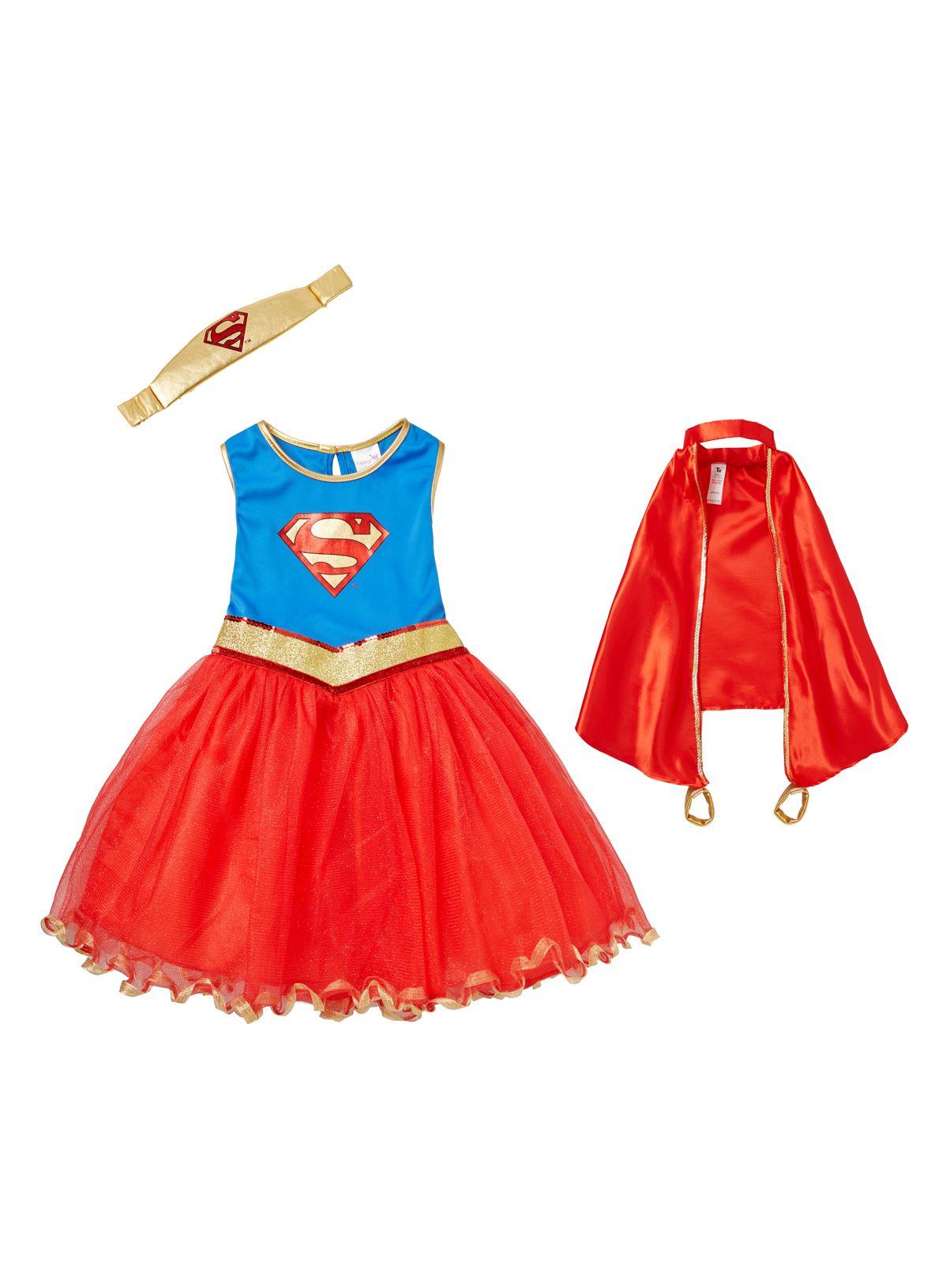 White apron sainsburys - 3 12 Years Tu At Sainsburys Girls Red Supergirl Outfit 15