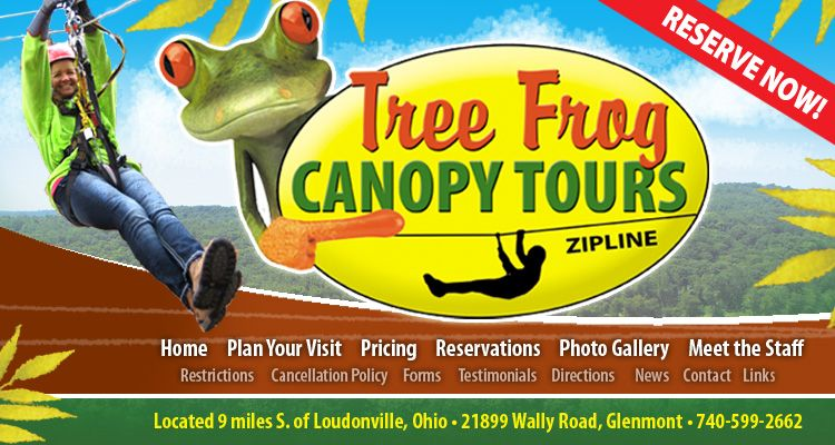 Tree Frog Canopy Tours  sc 1 st  Pinterest & Tree Frog Canopy Tours | Visit Mohican Loudonville | Pinterest ...