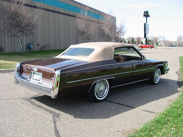 1978 Cadillac Sedan Deville Custom 4 Door Convertible Cadillac