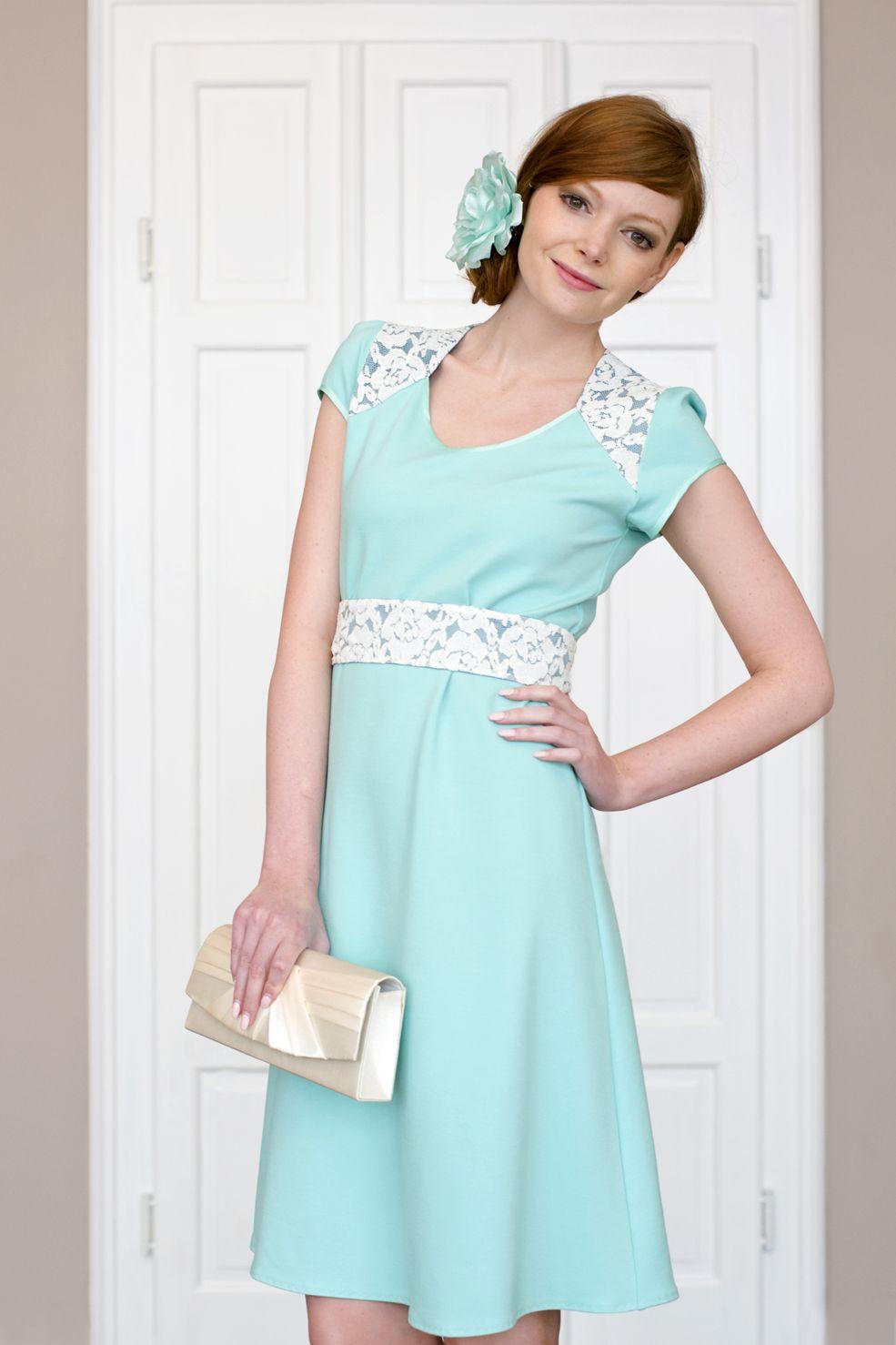 Labude - Kleid Gretha kurz Hochzeitsgast Elegantes Kleid ...