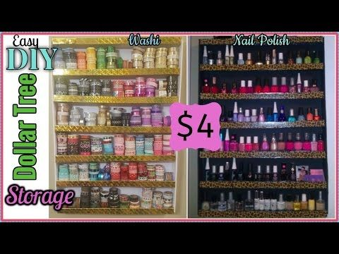 Dollar tree diy desk top or wall washi tape organizer for Vita craft factory outlet