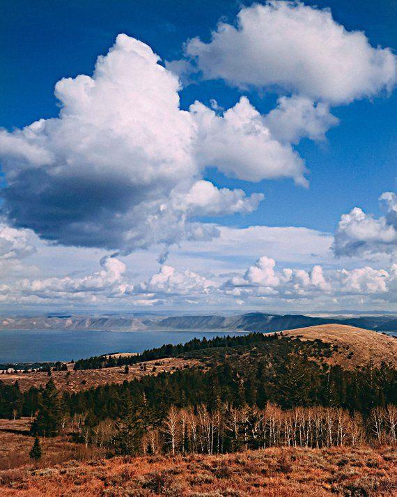 Bear Lake Landscape Photography Photograph Of Bear Lake Utah Photograph Cloud Photograph Lake Photography Photo Of Clouds Clouds Lake Photography Landscape Photography Landscape