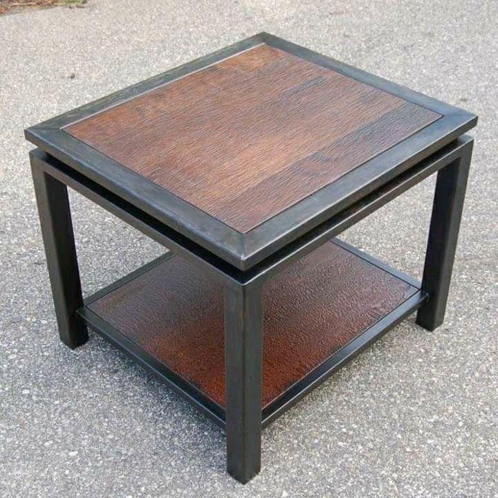 Mesita De Servicio Metal End Tables Welded Furniture Metal