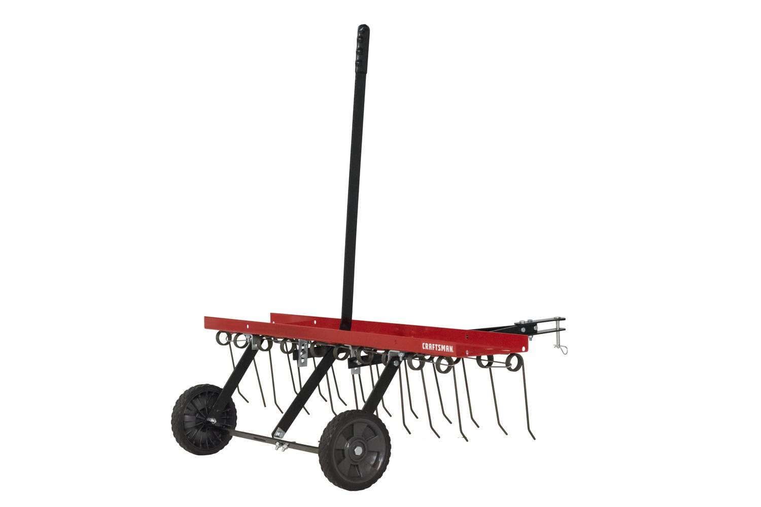 Craftsman Cmxgzbf7124315 40 Detatcher Tow Lawn Dethatcher Click Image For More Details It Is An Affiliate Link To Amazon In 2020 Dethatching Lawn Craftsman Lawn