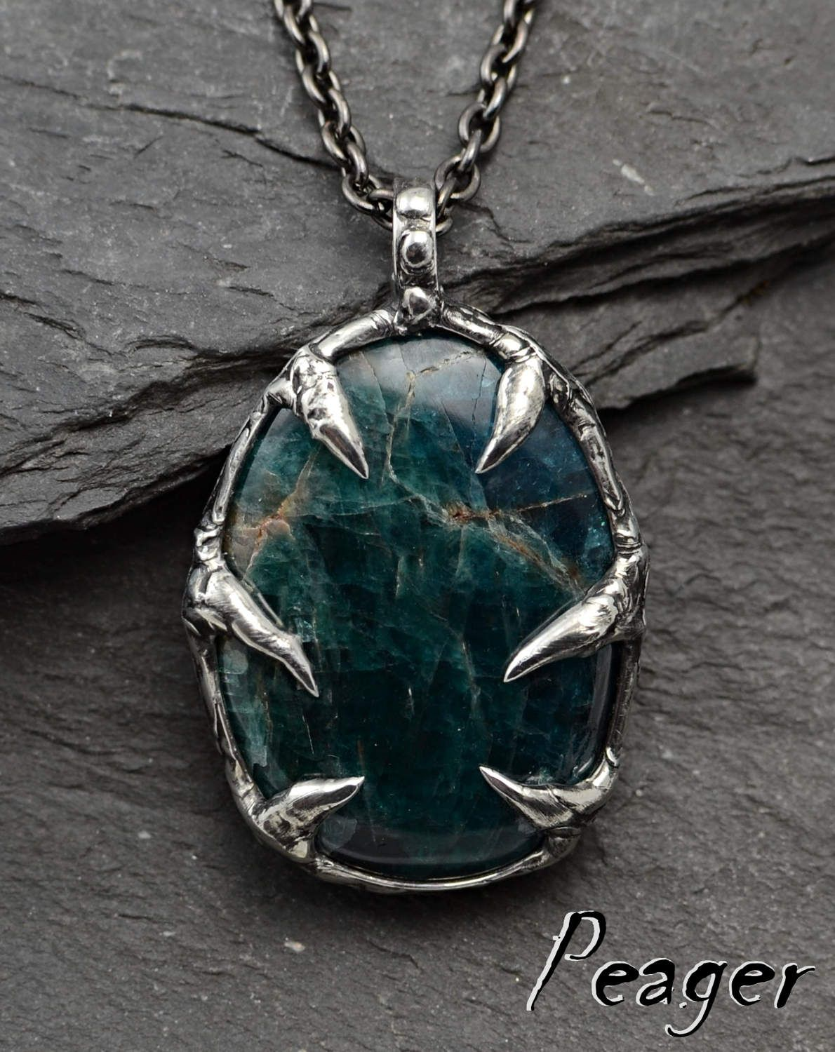 Apatite necklacewitch necklacemetalworkblue necklaceapatite apatite necklacewitch necklacemetalworkblue necklaceapatite pendanthealing necklace mozeypictures Images