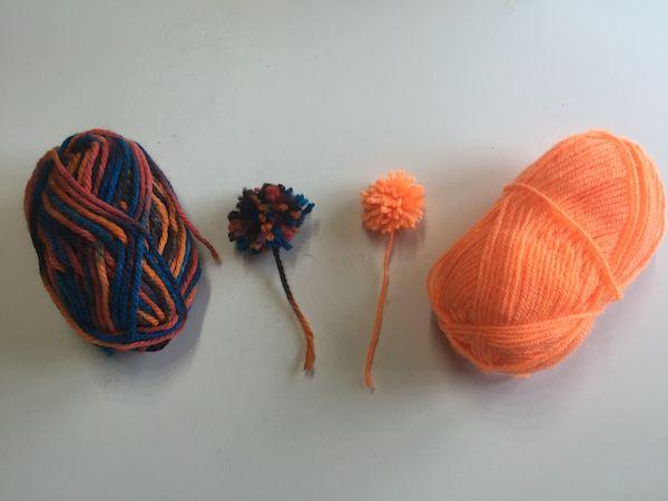 Manualidades Con Lana Manualidades Faciles Pinterest Pompones - Como-hacer-manualidades-con-lana