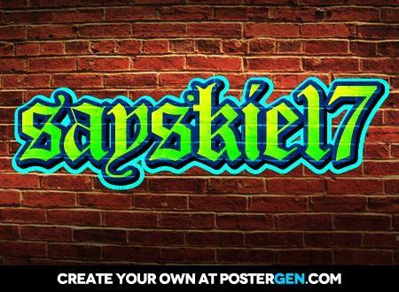 Sayskie Graffiti Creator The Creator Daniel Oconnell Poster Prints