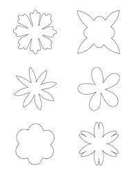 felt flower template - Google Search #feltflowertemplate felt flower template - Google Search #feltflowertemplate
