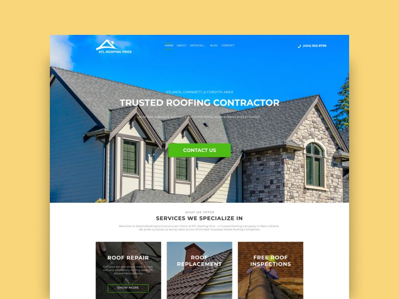 Atl Roofing Services Roofing Services Roofing Roofing Contractors