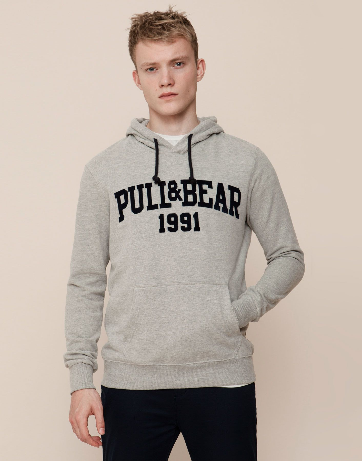 95d1b8e4558 SWEAT COM CAPUZ - SWEATSHIRTS - HOMEM - PULL BEAR Portugal