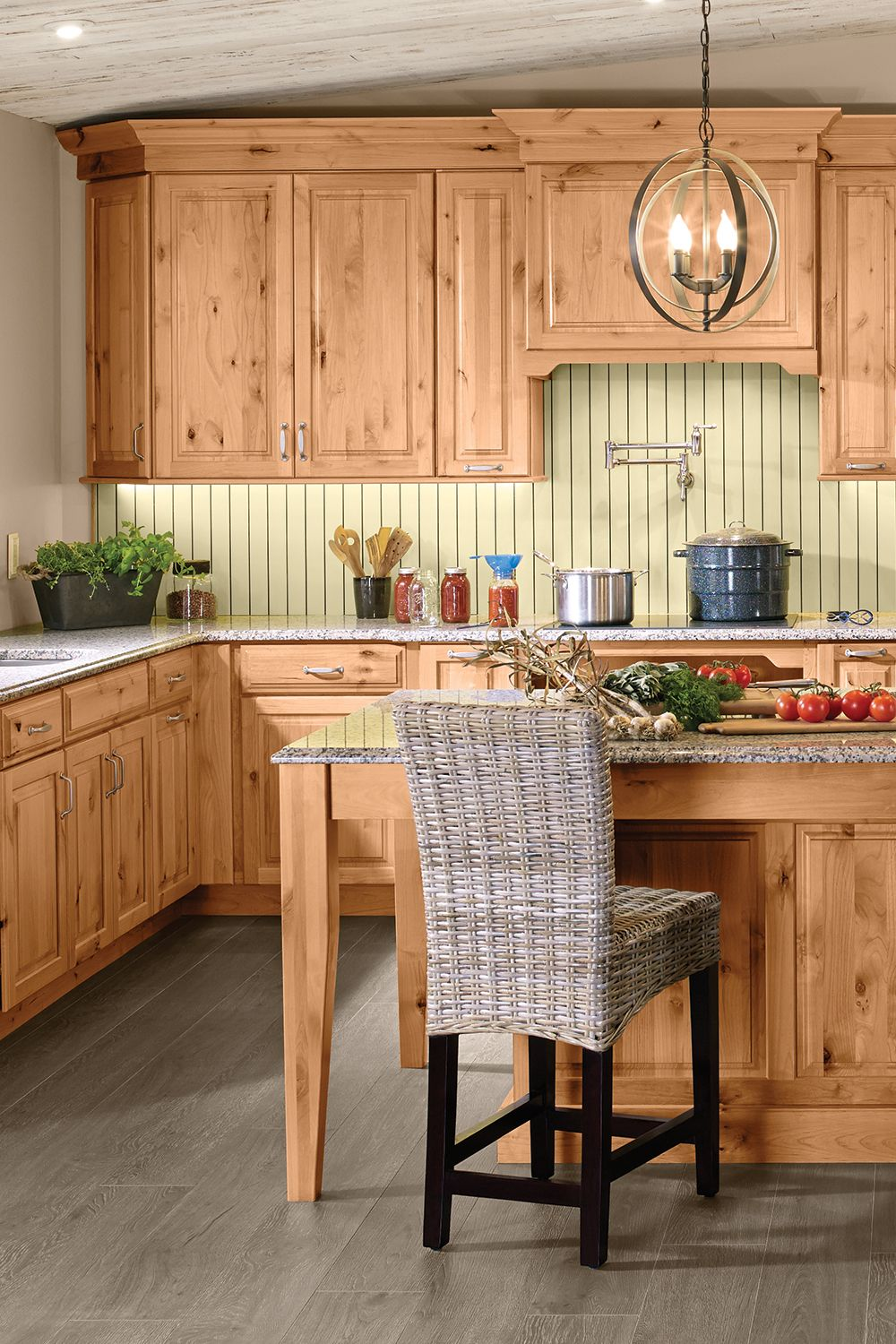 Home Cooking In 2020 Hickory Kitchen Cabinets Alder Kitchen Cabinets Natural Wood Kitchen Cabinets