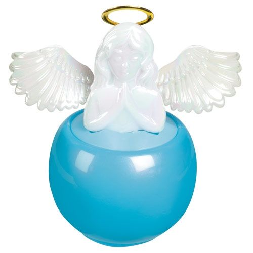 Solar Powered Guardian Angel With Moving Wings Toy