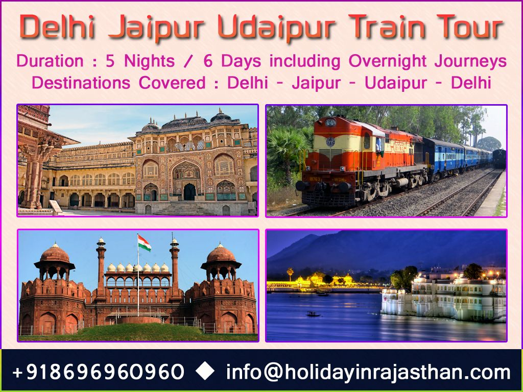 The Heritage of India Train Tour | India Train Tours | Train