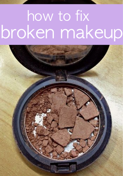 How to Fix Your Broken Makeup Makeup, Blusher and Hair