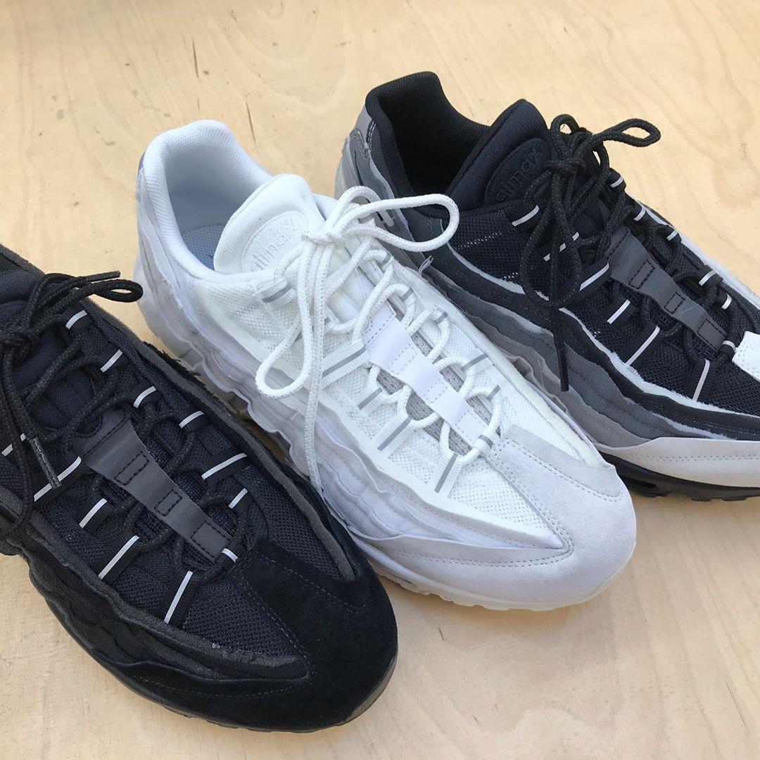 Nike Air Max 95 Premium Black Muslin