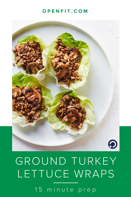 Ground Turkey Lettuce Wraps | Recipe in 2020 | Ground ...