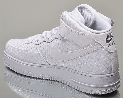 Nike Air Force 1 Mid 07 LV8 AF1 men lifestyle casual sneakers NEW white