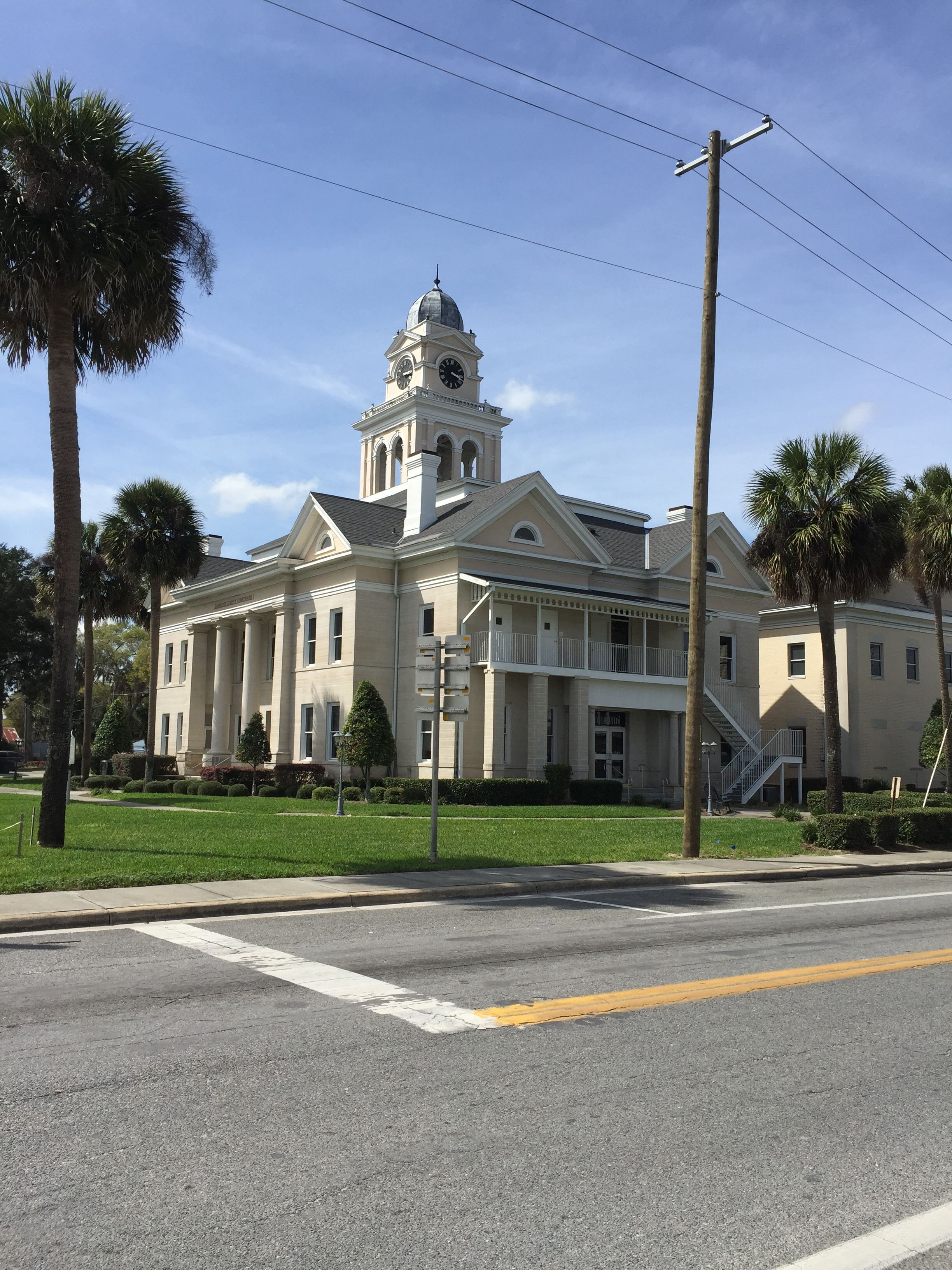 Lafayette county courthouse in mayo florida paul