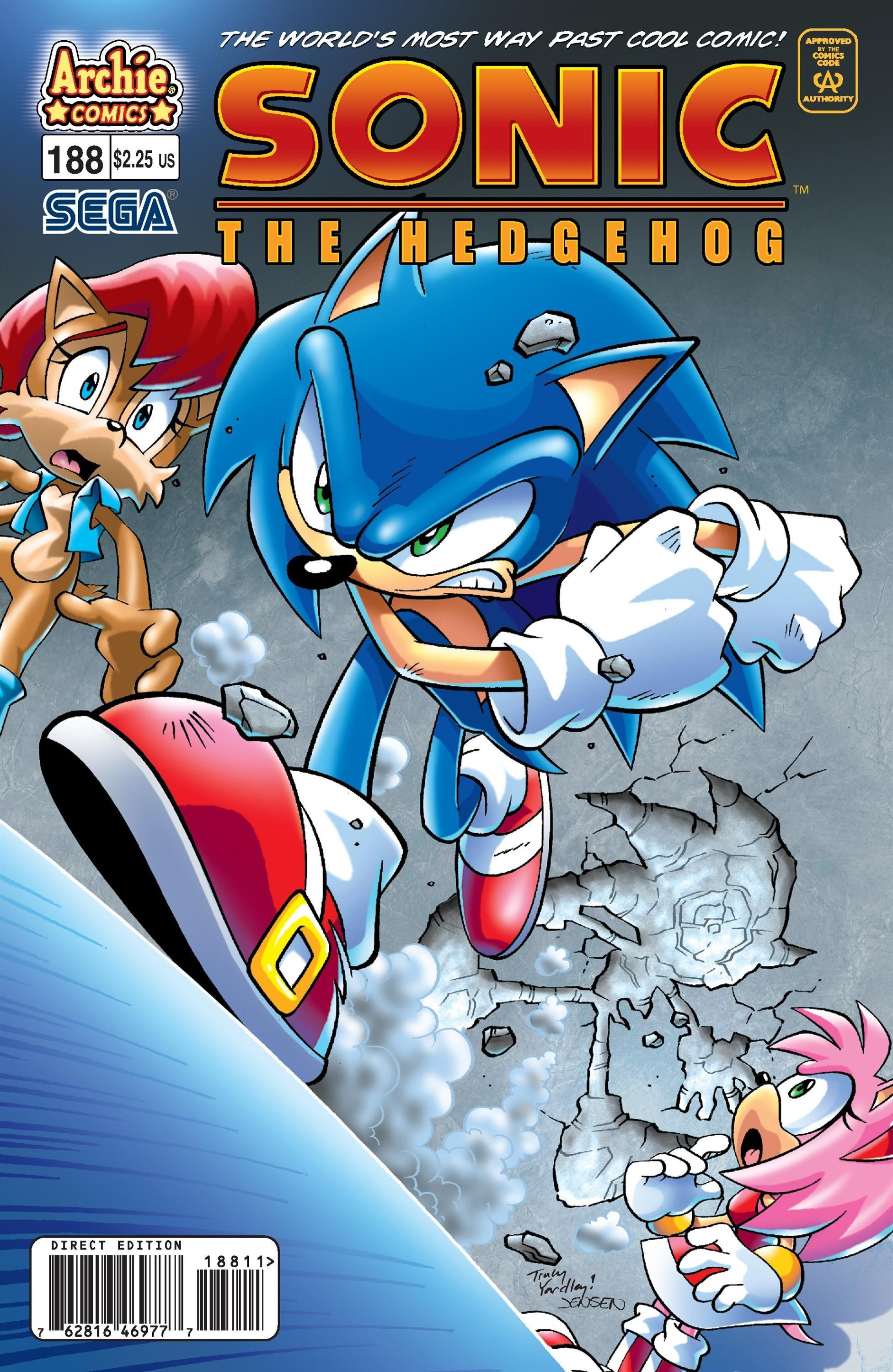 Sally acorn sonic news work pictures to pin on pinterest - Archie Sonic The Hedgehog Issue 188