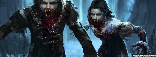 Vampiros atacando