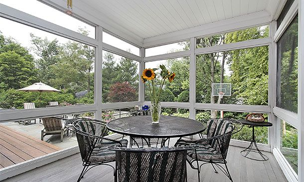20 Beautiful Glass Enclosed Patio Ideas Enclosed Patio Patio Patio Windows