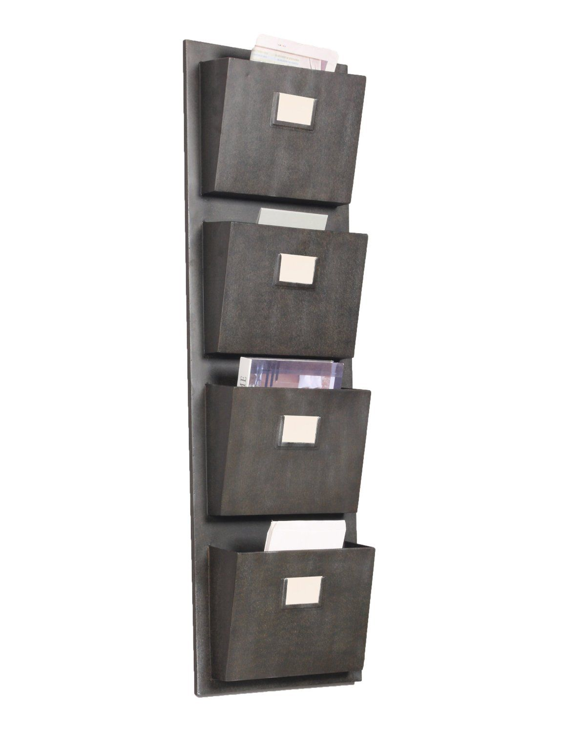 4 Slot Hanging Metal Mailbox