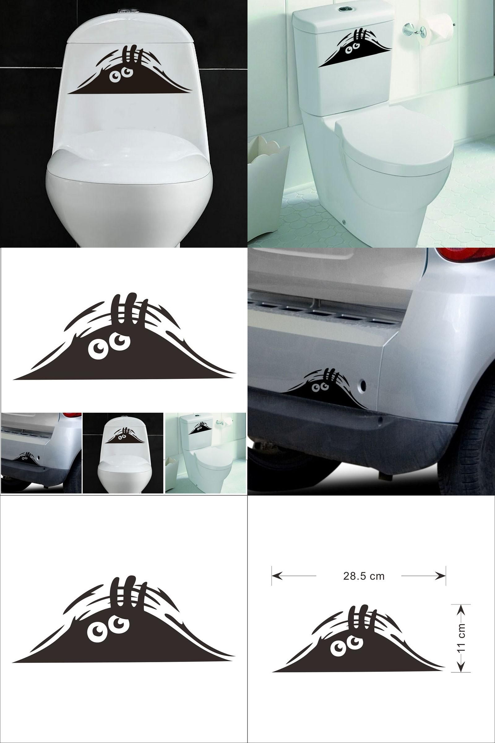 Visit To Buy Pvc 3d Cartoon Waterproof Car Wall Stickers Funny Toilet Stickers Wc For Living Room Bathroom Be Wall Decor Bedroom Waterproof Car Wall Stickers [ 2400 x 1600 Pixel ]