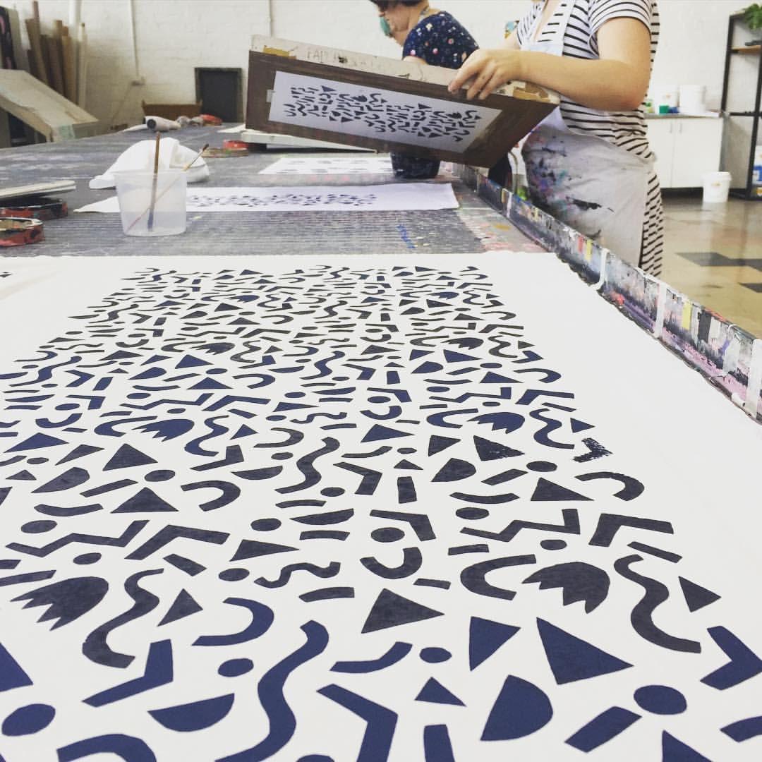 impression motif sur textile