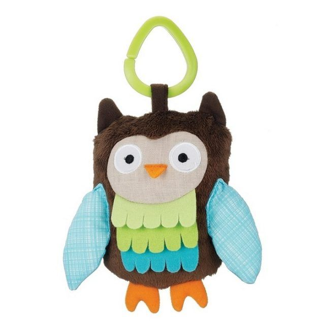 Attach to the stroller for fun on-the-go. | https://tinytotsbabystore.com/toys/other-toys/skip-hop-treetop-friends-stroller-toys-wise-owl/?utm_content=bufferc12d2&utm_medium=social&utm_source=pinterest.com&utm_campaign=buffer