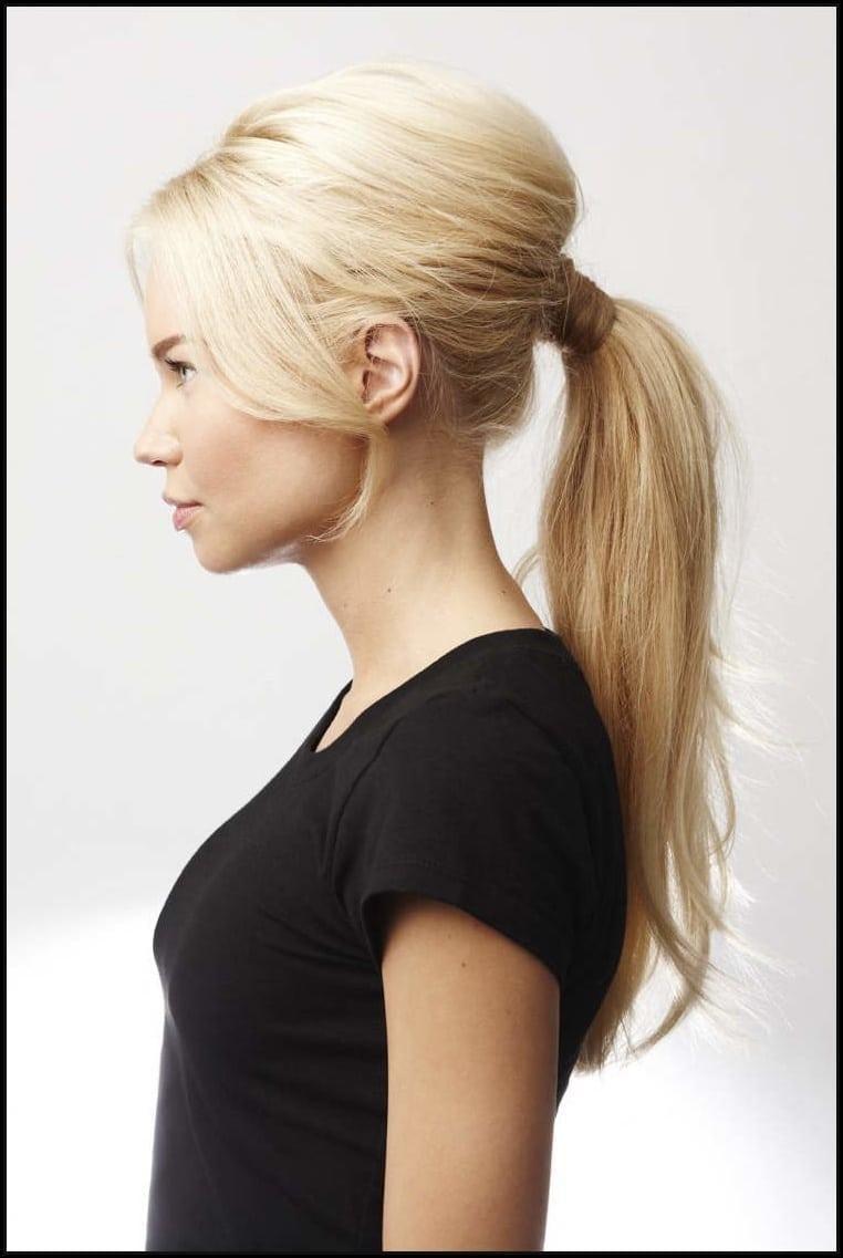 Pferdeschwanz Frisur 2018 Einfache Frisuren Damen Style