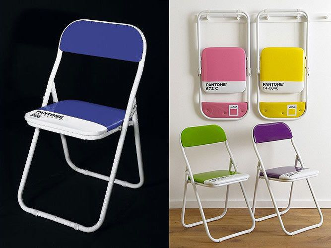 Pantone Chairs ?