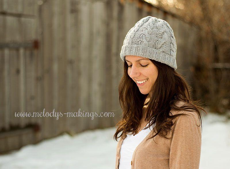 Knit Hat Pattern Knitting Pinterest Knitted Hat Patterns