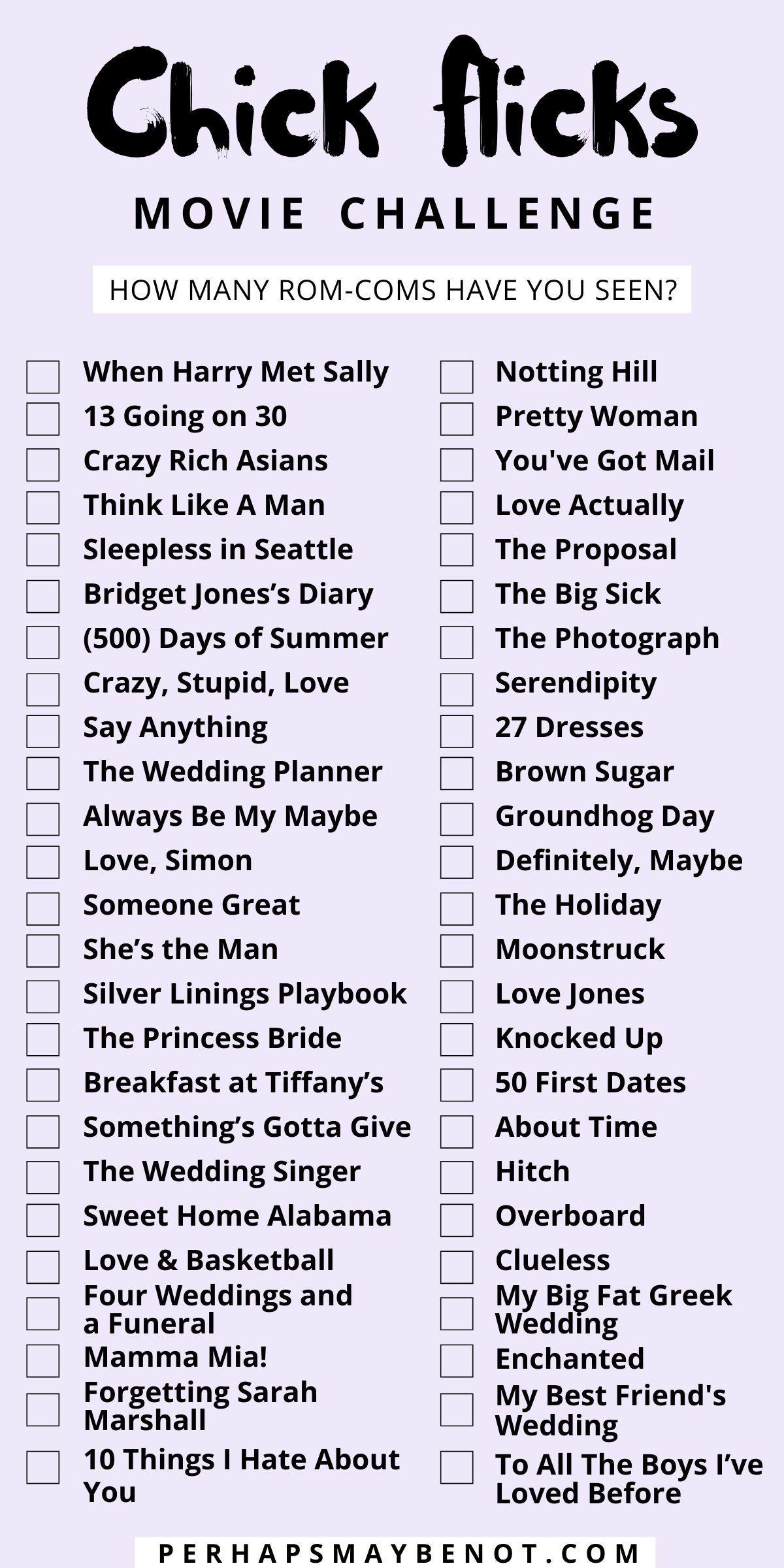 60 Best Romantic Comedies For Movie Night - Perhap