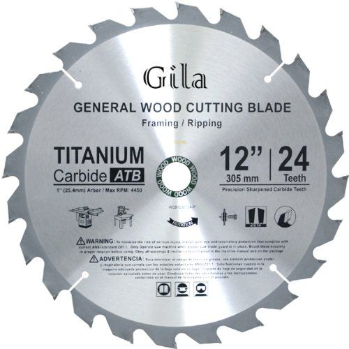 Gilatools 12 Inch 24 Teeth Atb Framing Carbide Saw Blade Visit The Image Link More Details Circular Saw Blades Laminate Flooring Installing Laminate Flooring