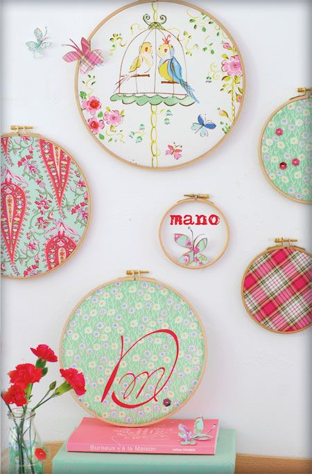 Buy different materials and some Round Needlepoint Cross Stitch ...