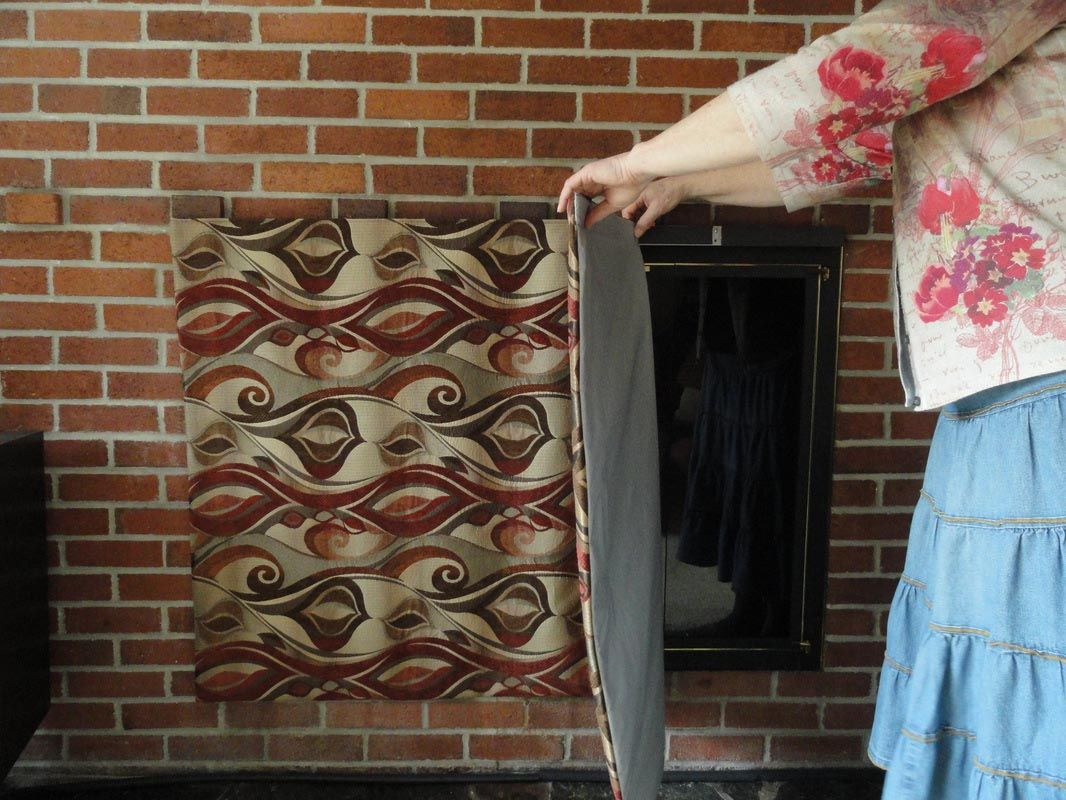 fireplace magnetic vent cover fireplace