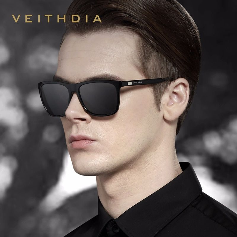 VILLAY Unisex Retro Classic Trendy Stylish UV400 Sunglasses for Men Women