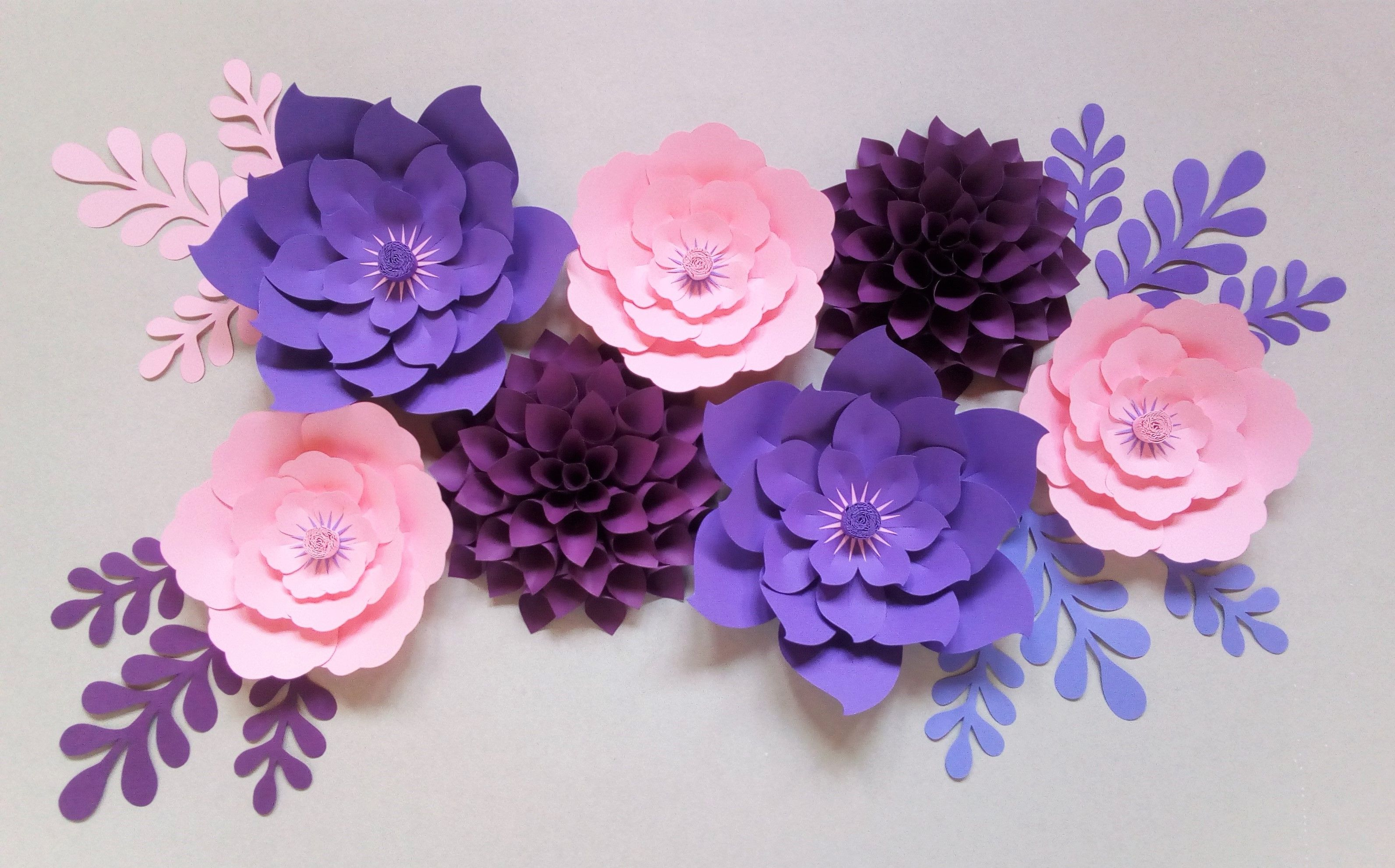 Kwiaty Z Papieru Paper Flowers Paper Flowers Flower Backdrop Flowers